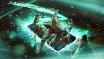 Ciri Gwent witcher Game card