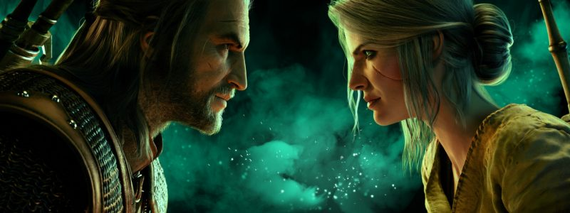 geralt tsirilla gwent the witcher card game gwen